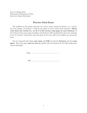 PdfEconomics Introduction - 5374620 - UCLA - StuDocu