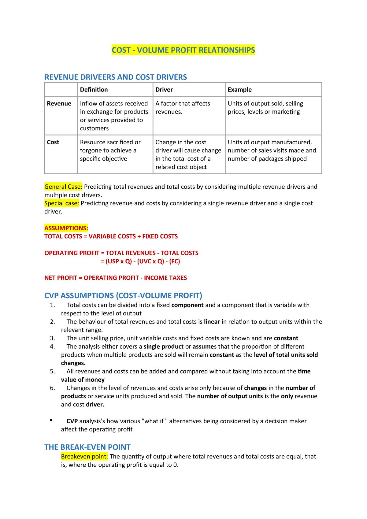 Summary ACCT20001 ACCT20001 18 Jun 2019 - StuDocu