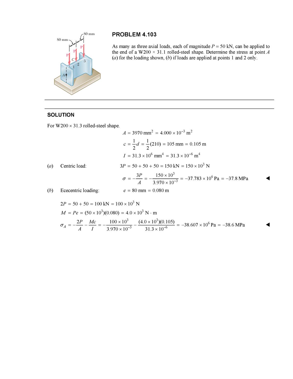 HW 11 - Homework set 11 Solutions - CE 3110: Mechanics Of Materials