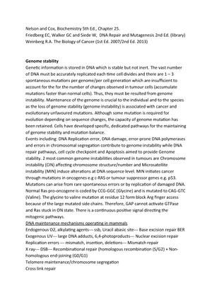 Review - Grade: A - BI449: Molecular and Cellular Biology
