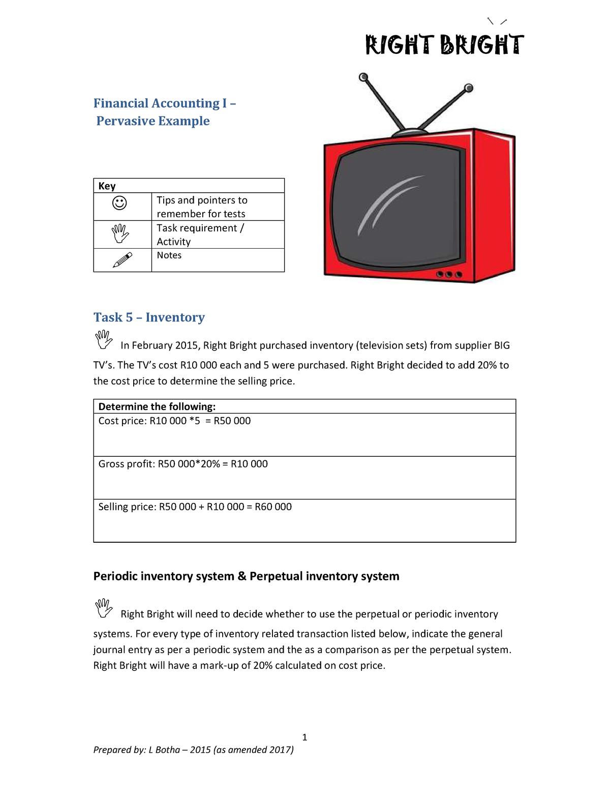 Financial Accounting - S311AIF: Financial Accounting 1 - StuDocu