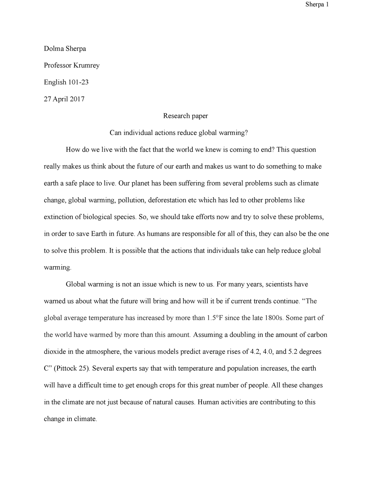 Global warming college research paper pay for marketing business plan
