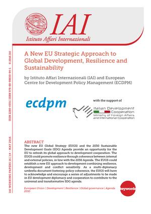 New eu strategic approach to Global development - 0055011: Diritto