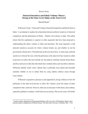 Contoh Review Essay Gradea Microeconomics Studocu