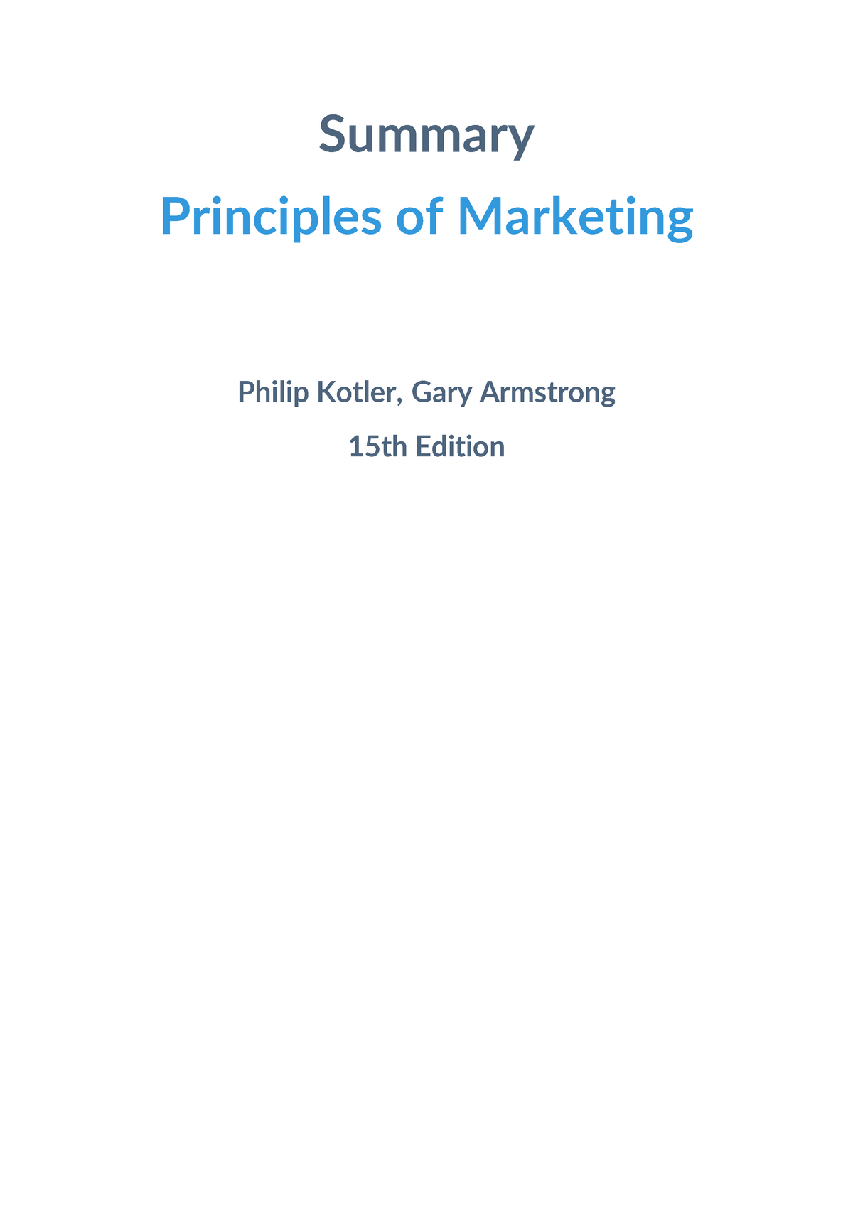Marketing Management By Philip Kotler 11th Edition Ebook