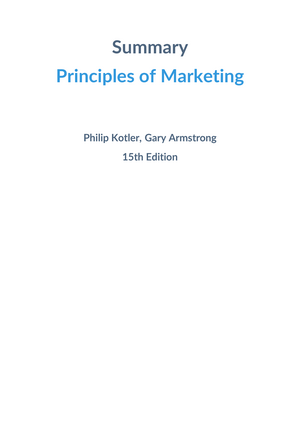 Summary principles of marketing philip kotler gary armstrong summary principles of marketing philip kotler gary armstrong marketing fundamentals fandeluxe Choice Image