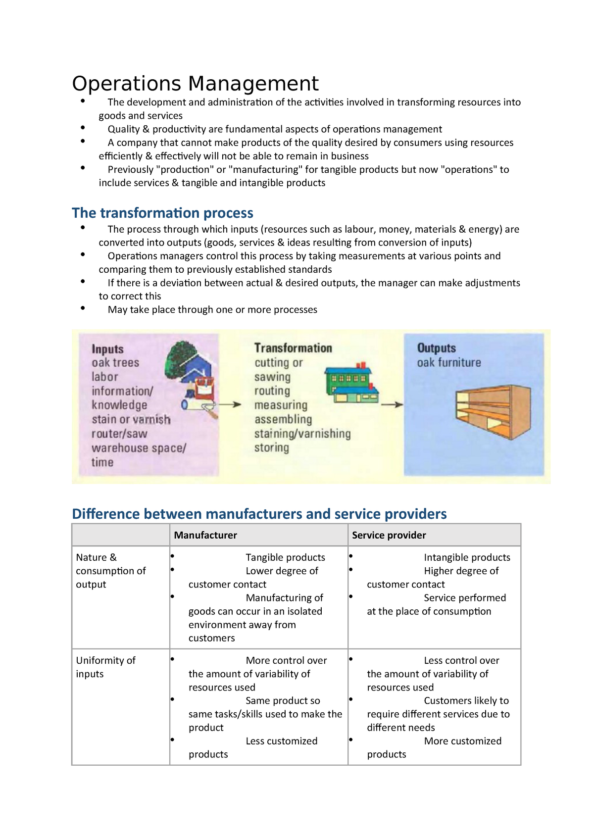 6  Processes and Operations - Business and Enterprise 1