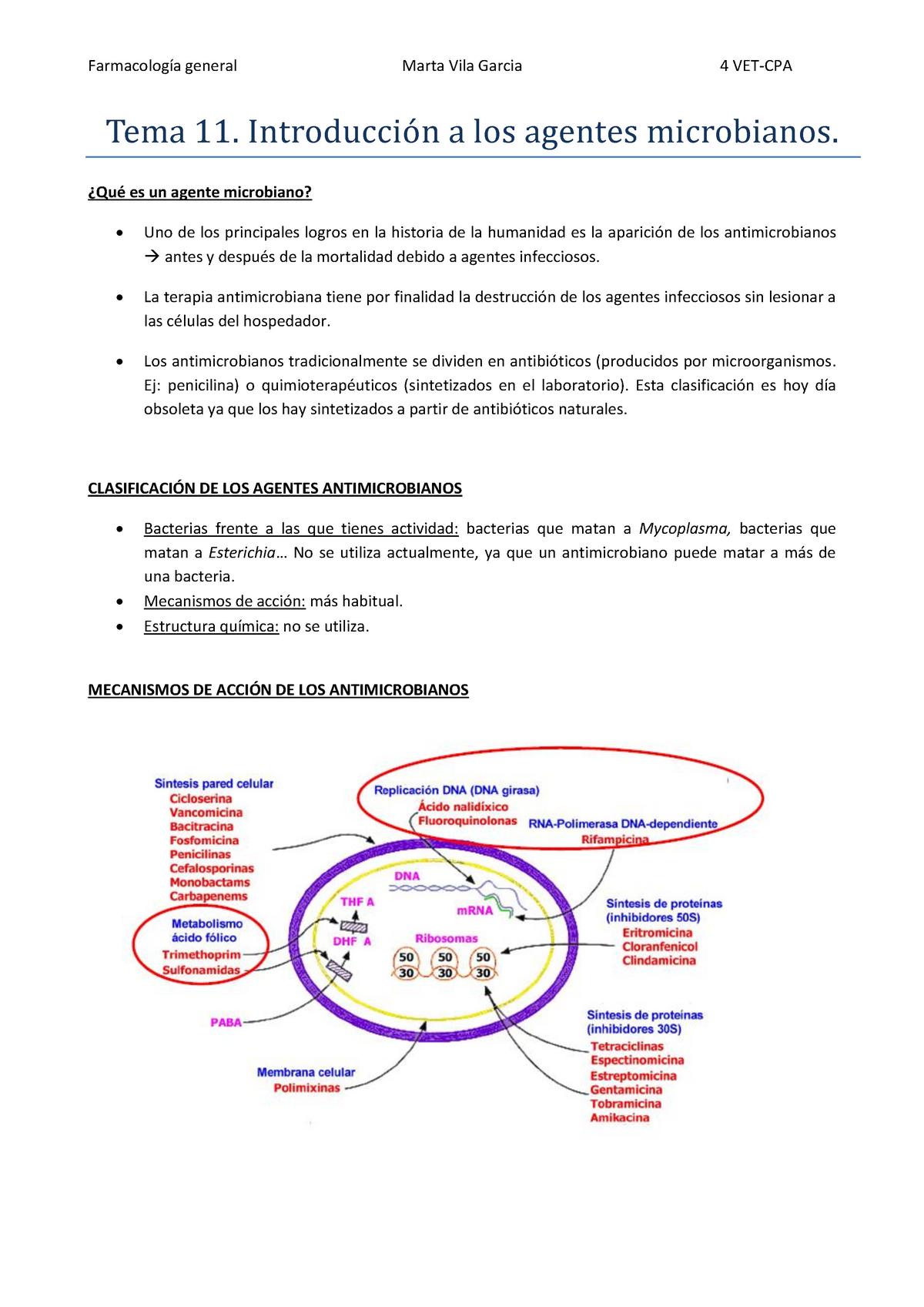 Tema 11 Introducción A Los Agentes Microbianos Udl