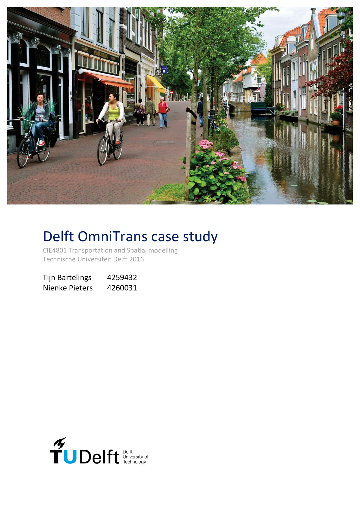Report Omnitrans assignment - CIE4801: Transportation and