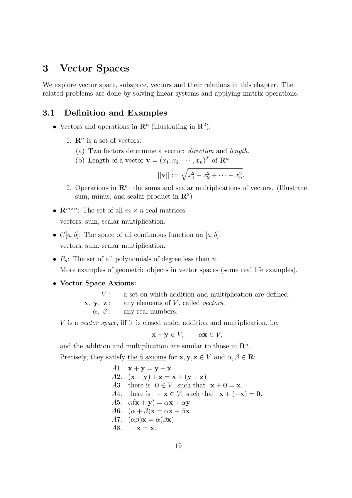 Linear Algebra-Chapter 3 - MATH 304: Linear Algebra - StuDocu