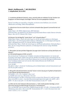 Nett Mol Arbeitsblatt Antworten Galerie - Arbeitsblatt Schule ...