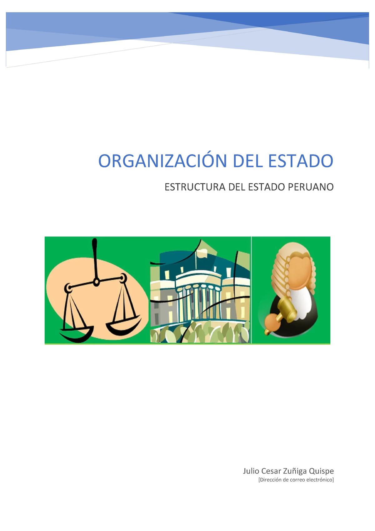 Org Del Estado 01 Derecho Constitucional Procesal Derecho