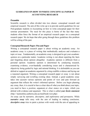 accounting topics for research paper
