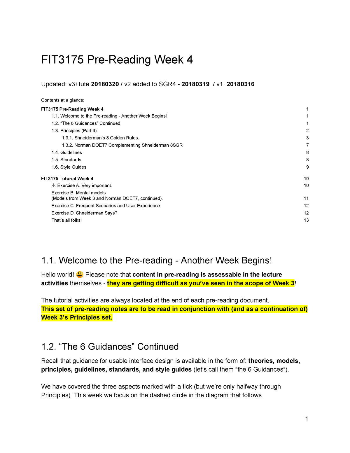 Fit3175 Week 4 Published Read Only Usability Monash Studocu