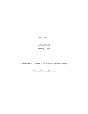 Task 1 - Grade: exemplary - c225 - StuDocu