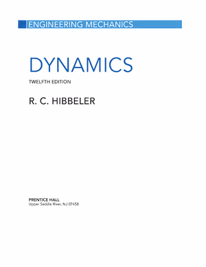 Engineering Mechanics Dynamics 12th Edition Rc Hibbeler Studocu