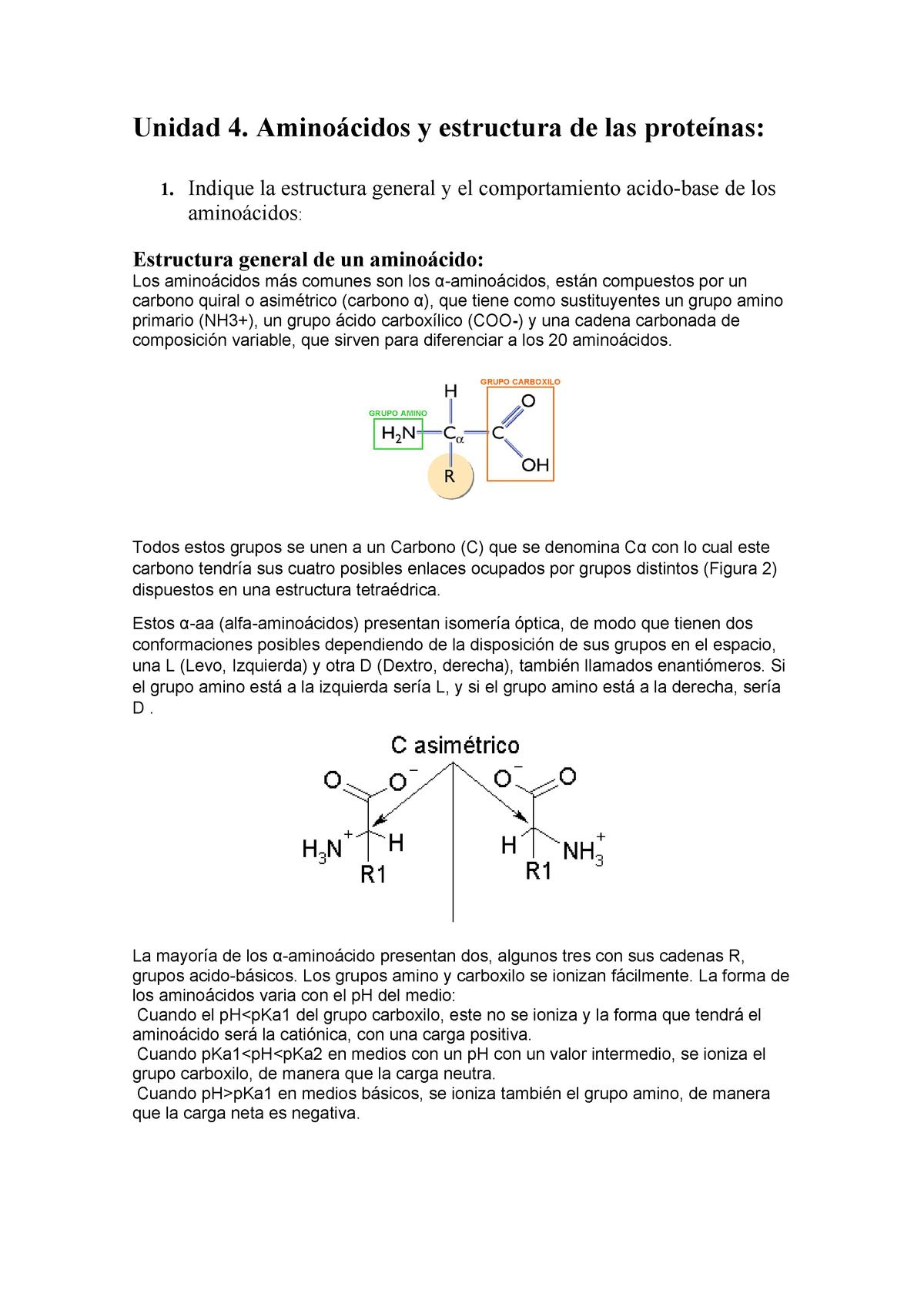Cuestiones Tema 4 Bioquímica 100407 Uco Studocu