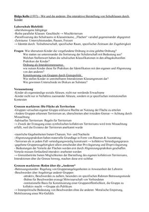 Zusammenfassung Texte Soziologie