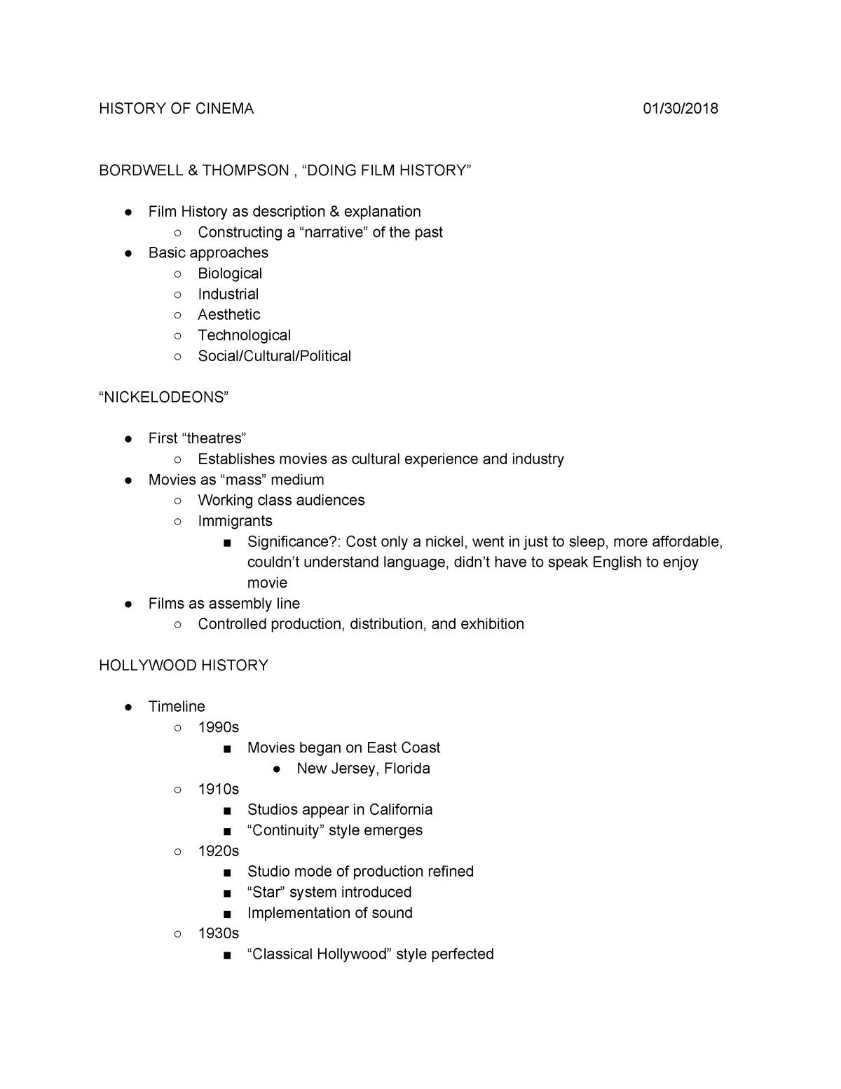 CMN 102 Notes - CMN 102: Introduction To Mass Communication