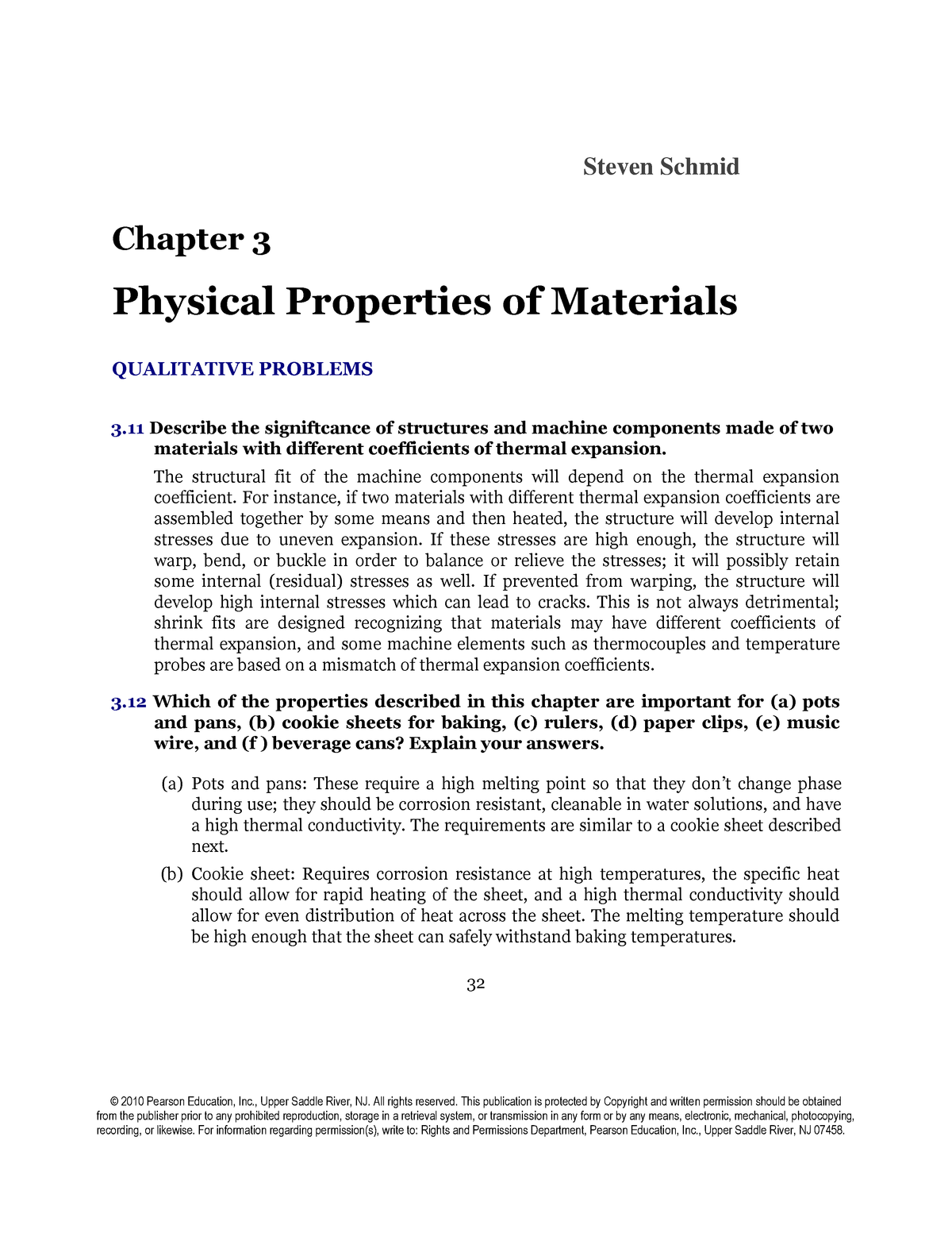 Solutions Manual for Manufacturing Engineering Technology