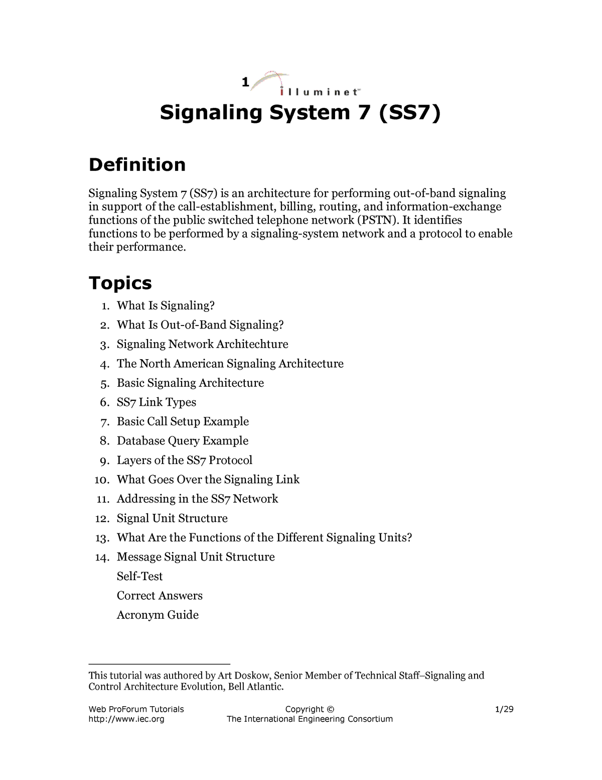 SS7 - notes - MAS355: Comm And Info Systems In Organizations