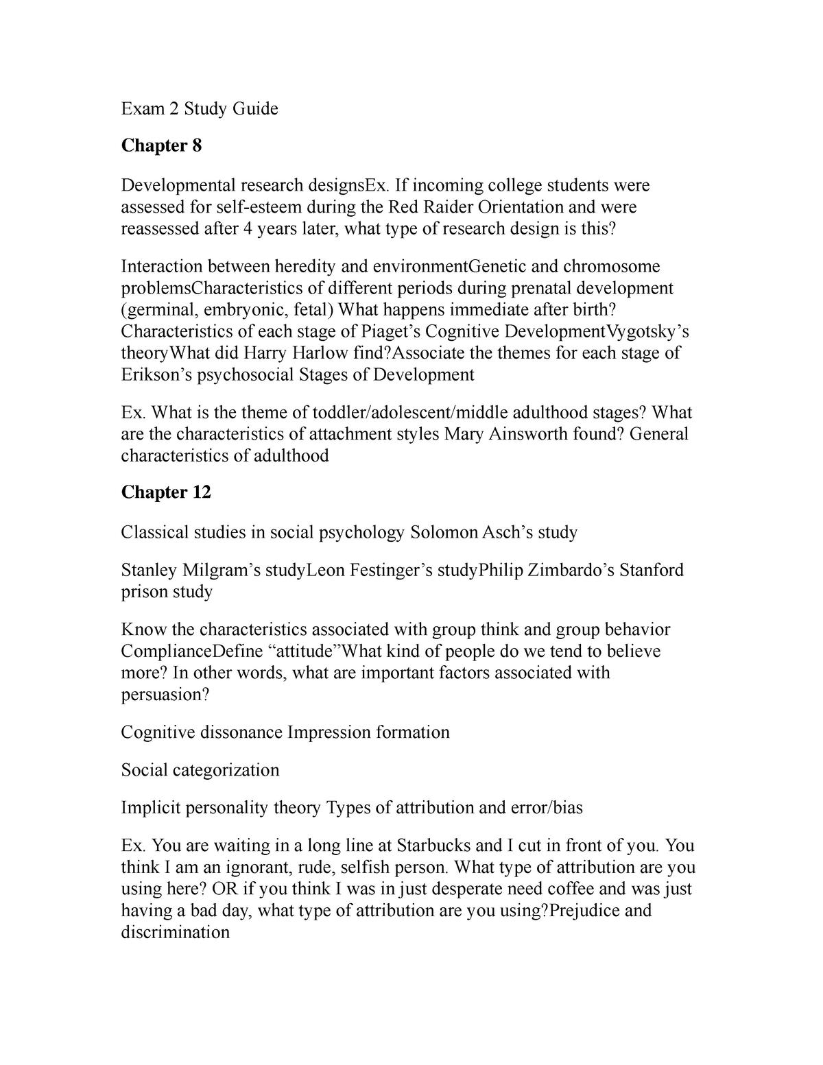 Summary PSY 1300 PSY 1300 20 Sep 2017 - StuDocu