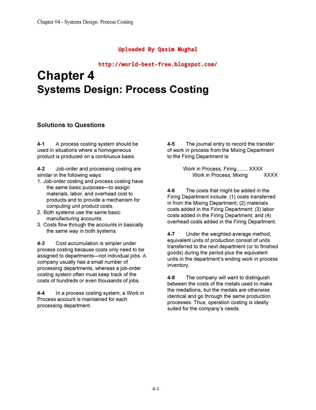 Kunci Jawaban Cornerstones Of Managerial Accounting 5th Edition Chapter 12 Guru Galeri