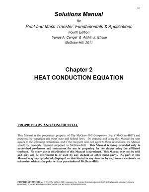 Heat Transfer By Yunus Cengel Pdf