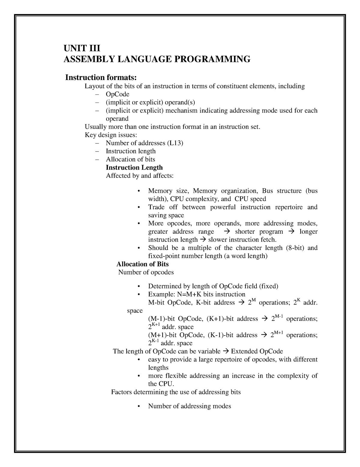 Assembler Programming 8086