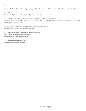 PEX-09-04 - Physio Ex 9 1 - BIOL 3120 - UHD - StuDocu