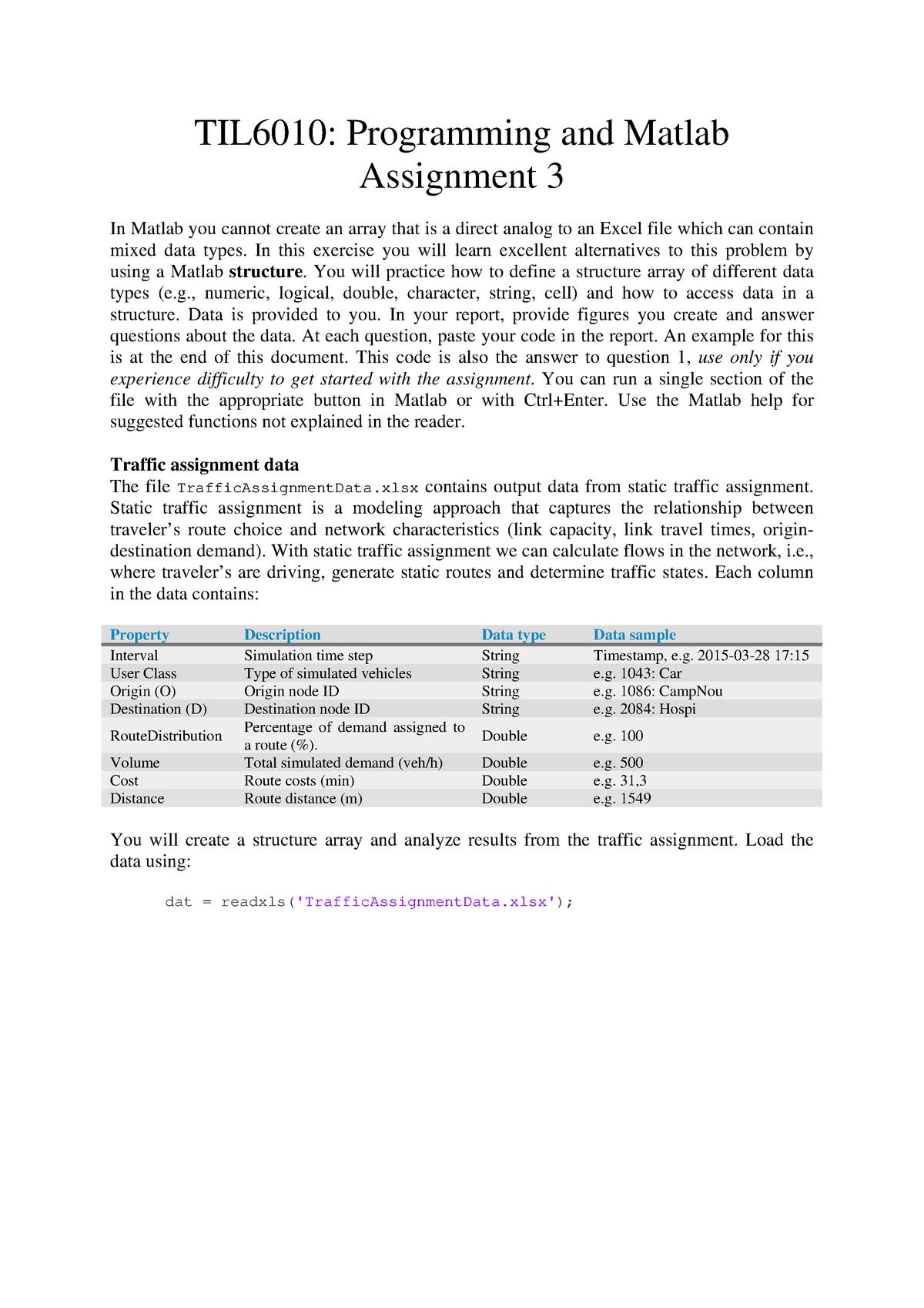Assignment 3 - Opdracht 3 - TIL6010: TIL Programming