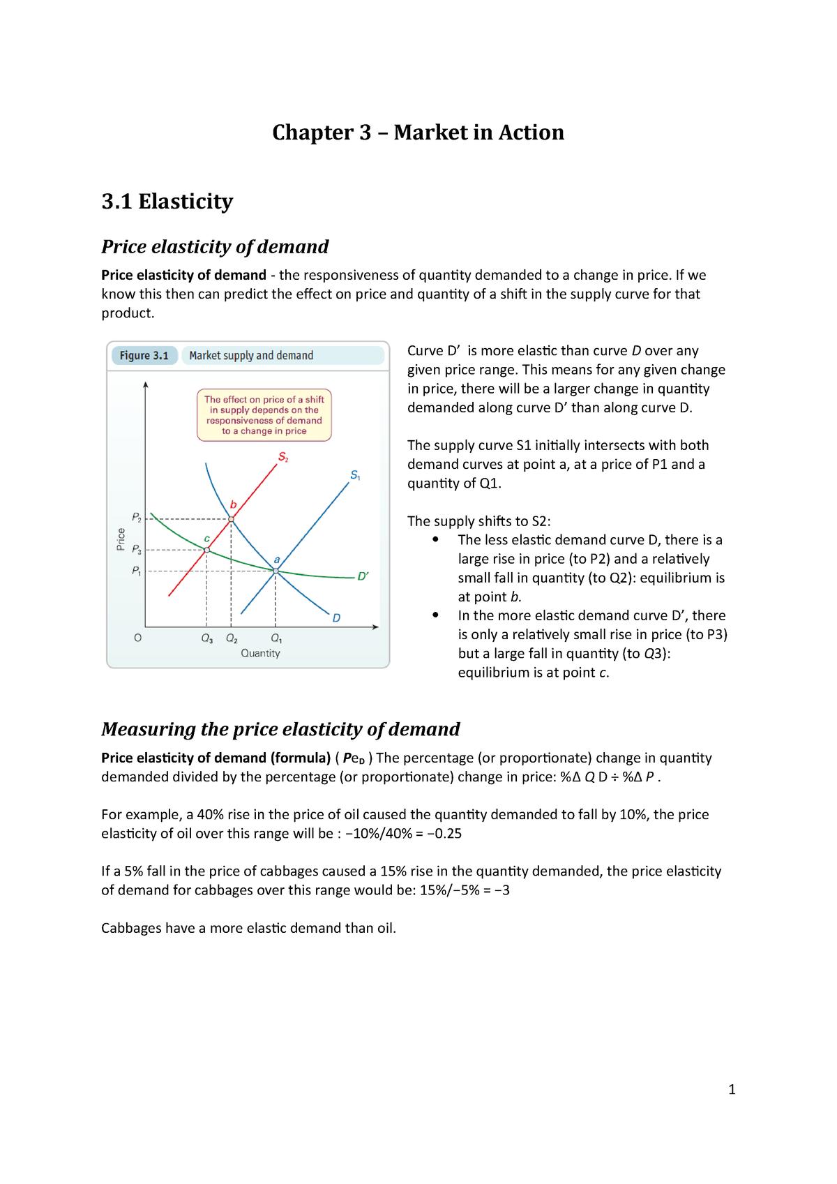 Chapter 3 1 Market Demand Economics By Sloman Et Al 9th Edition Studocu