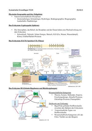 Zusammenfassung - Geomorphologie und Bodengeographie - Einführung in ...