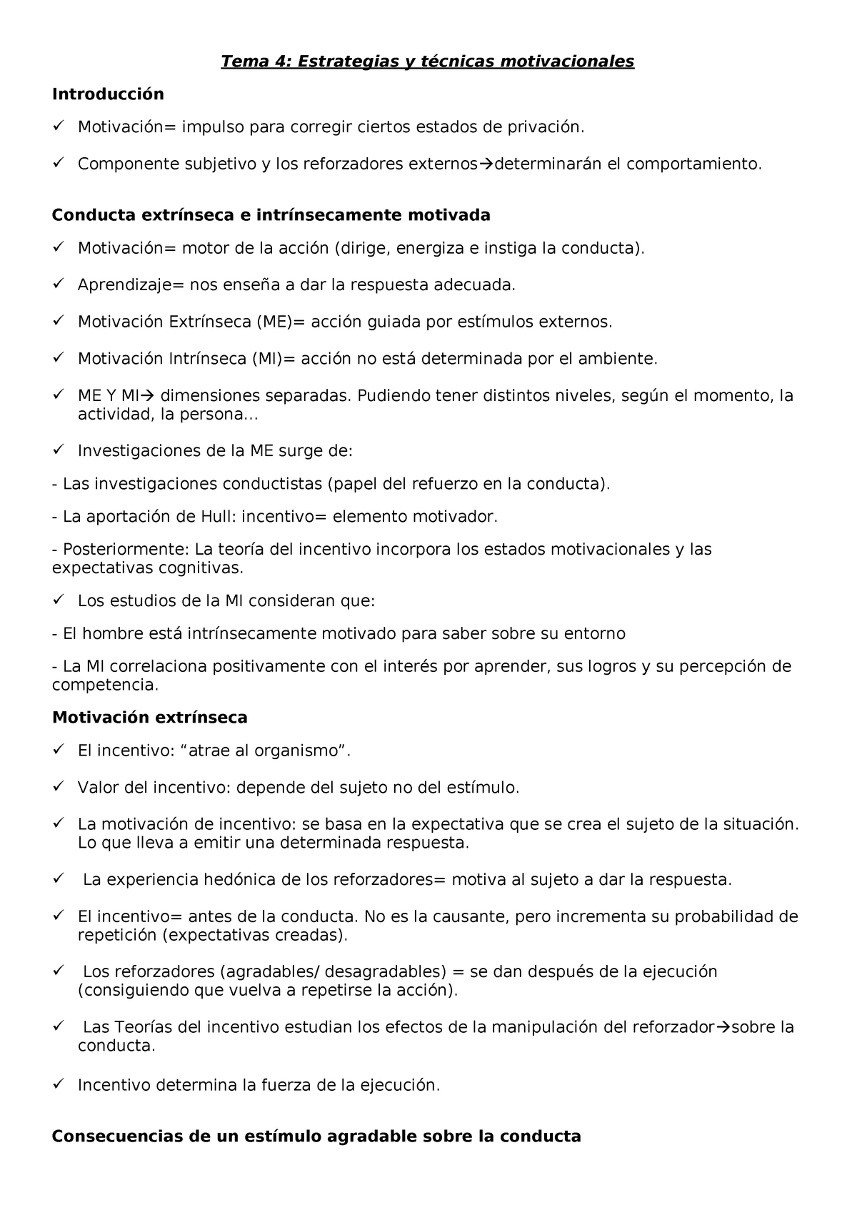 Tema 4a Estrategias Motivacionales 800144 Ucm Studocu