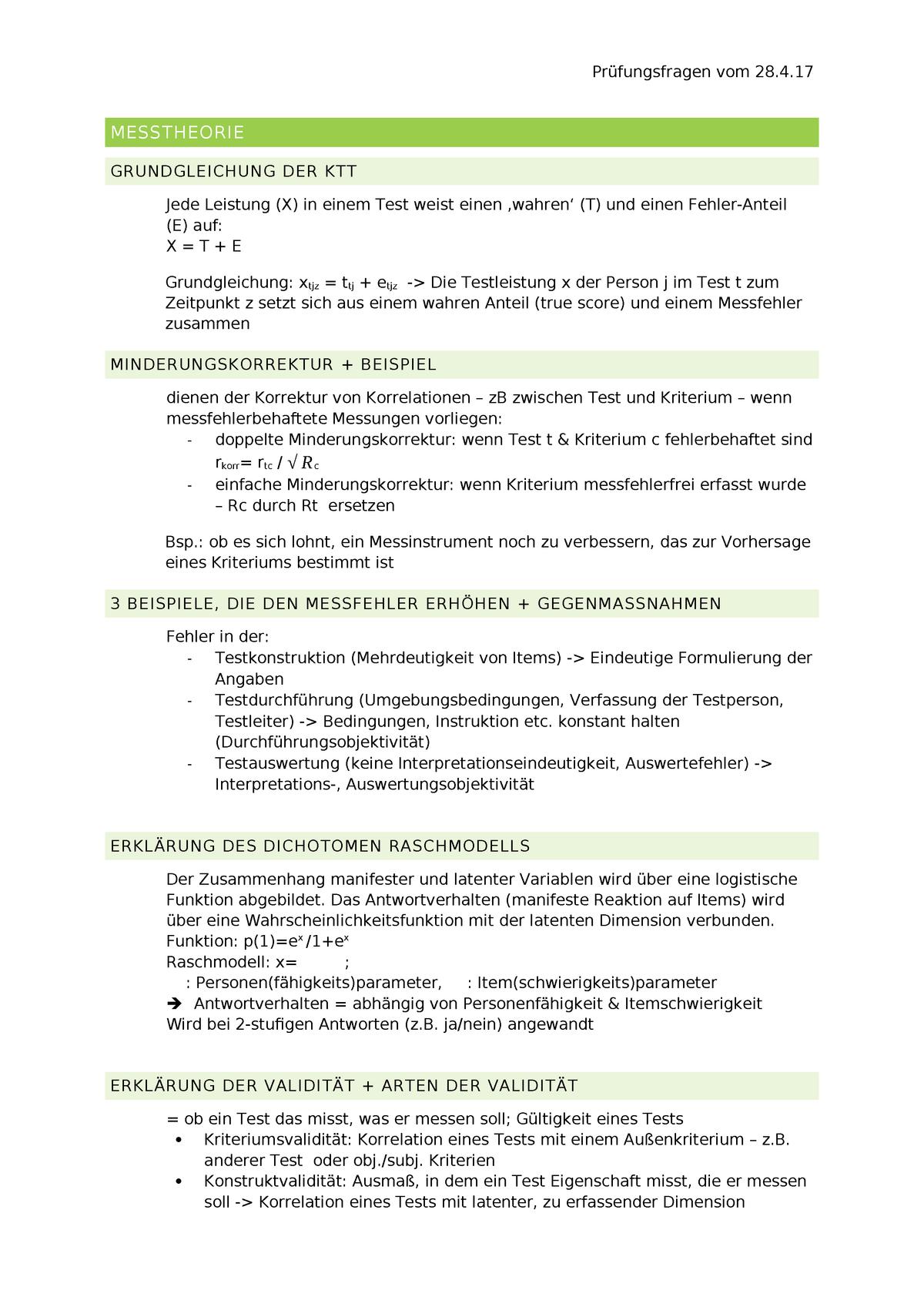Kriteriumsvalidität