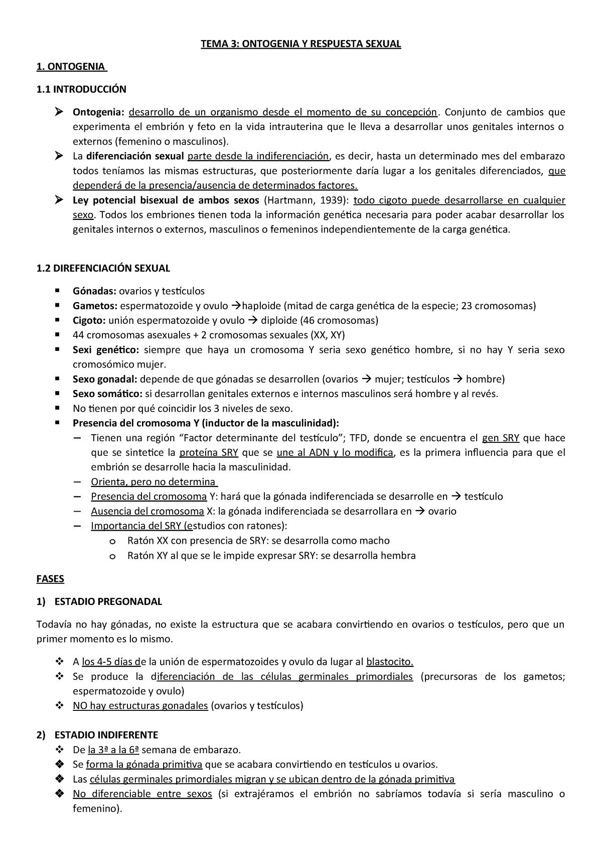 Tema 3 Apuntes Tema 3 Psicologia De La Sexualitat 364104