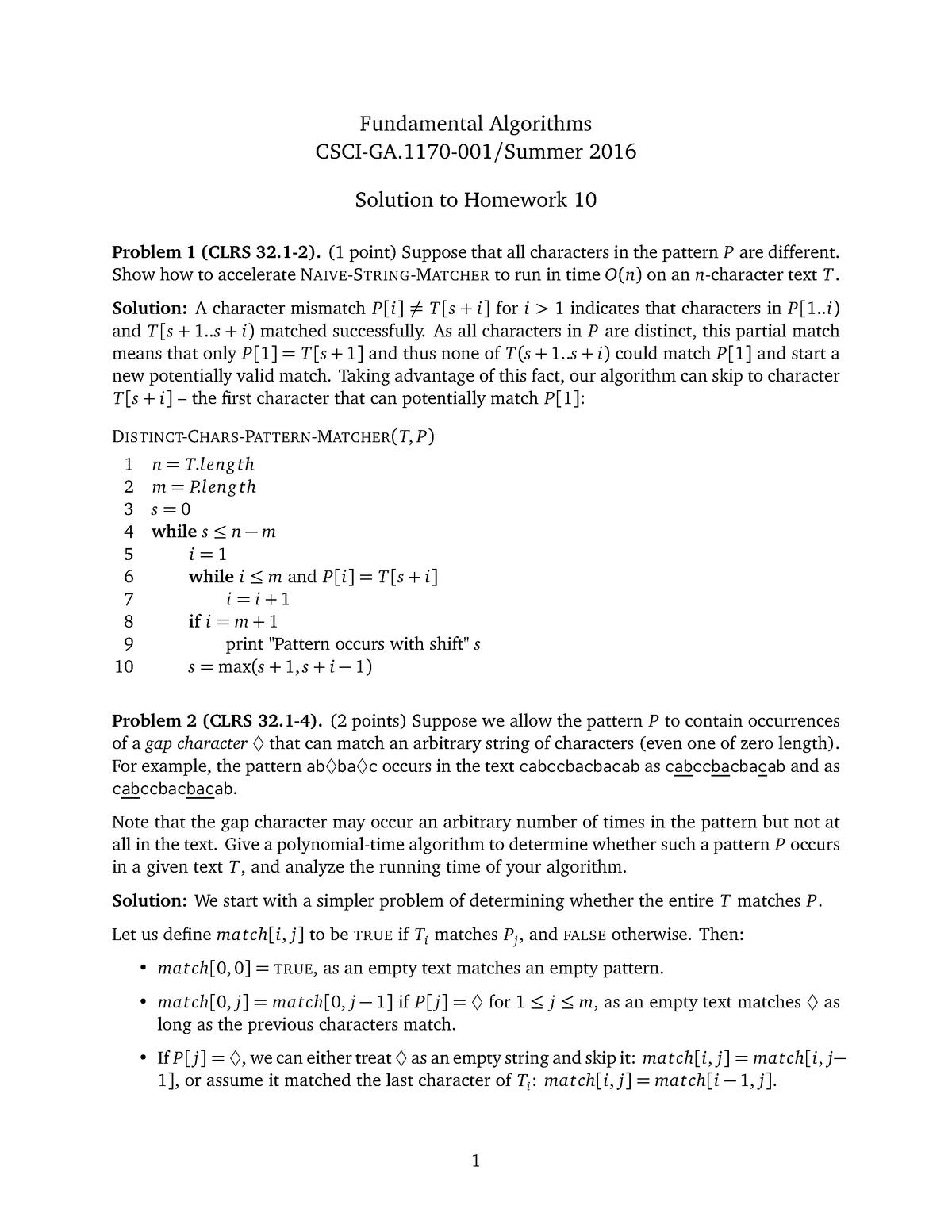 Hw10sol - Assignment 10 Solution - CSCI-GA 1170 - NYU - StuDocu