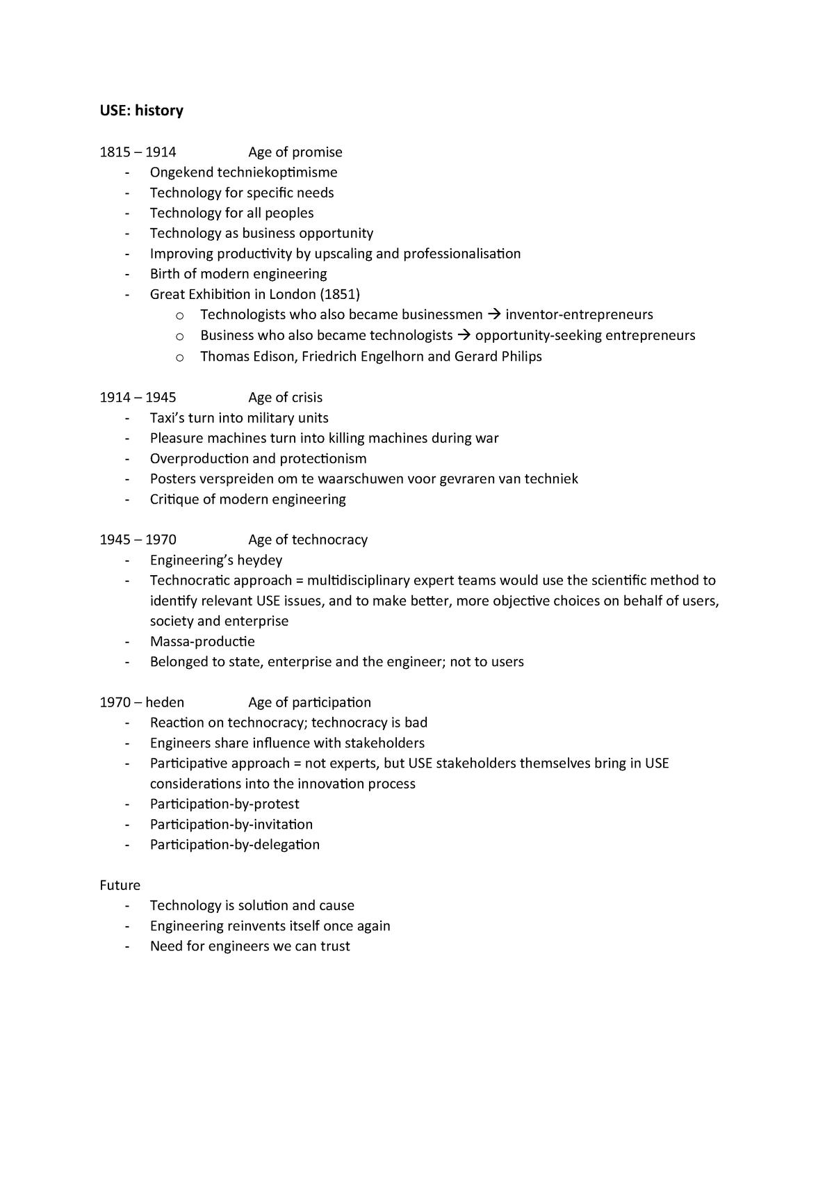 Sammanfattning 0SAB0 0SAB0 29 Dec 2018 - StuDocu