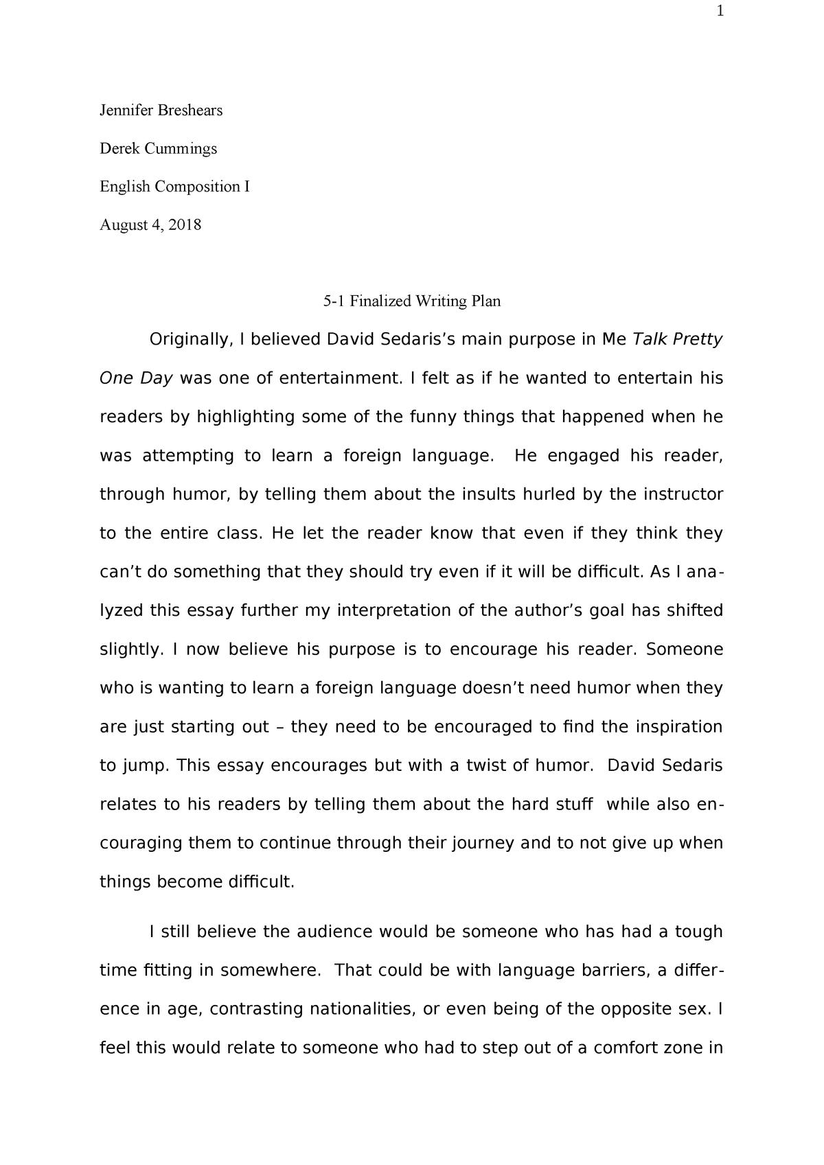 Easy environmental science essay topics
