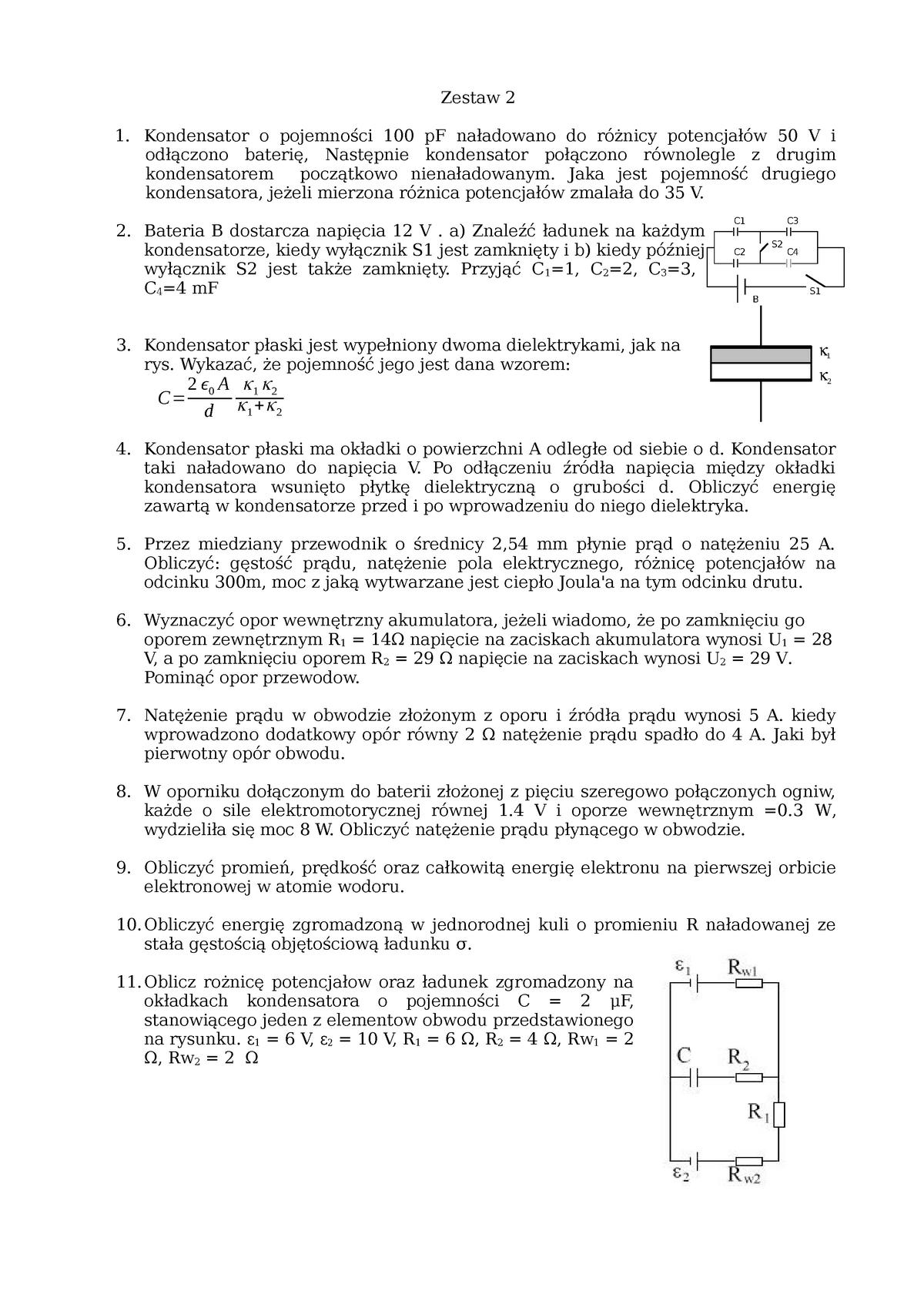 odebrane Pierwsze spojrzenie kup popularne Exam 2015, questions - Fizyka 2 WGiG/GiG/Fizyka2 - AGH - StuDocu