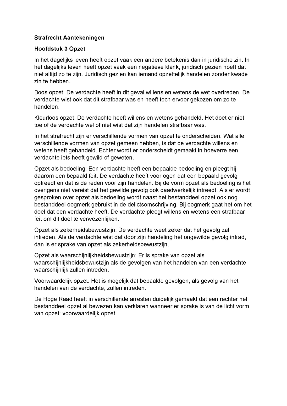 Strafprocesrecht Aantekeningen Formulier Lesweek 2 Studocu
