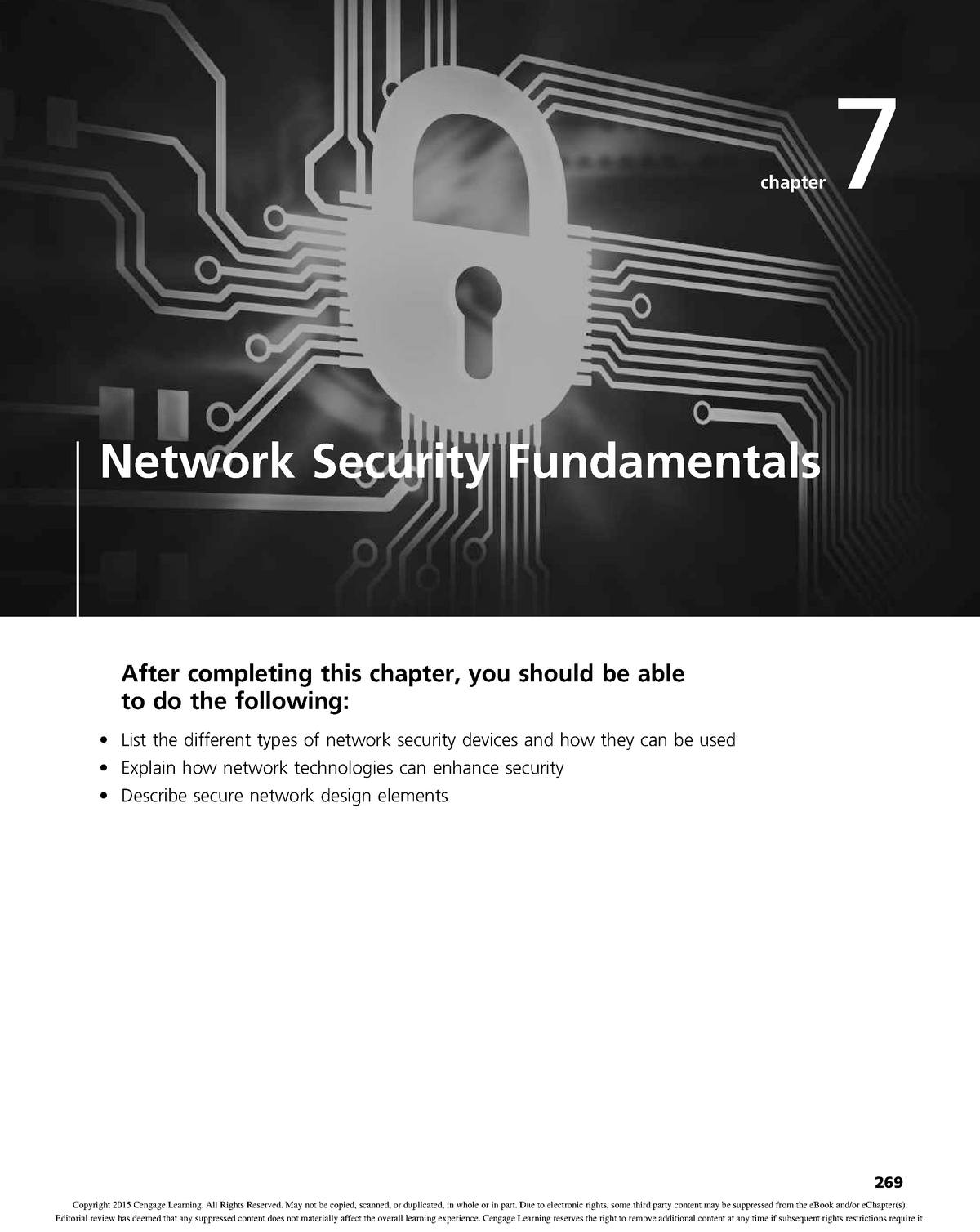 Chapter 07 Network Security Fundamentals - TABL2059 - UNSW