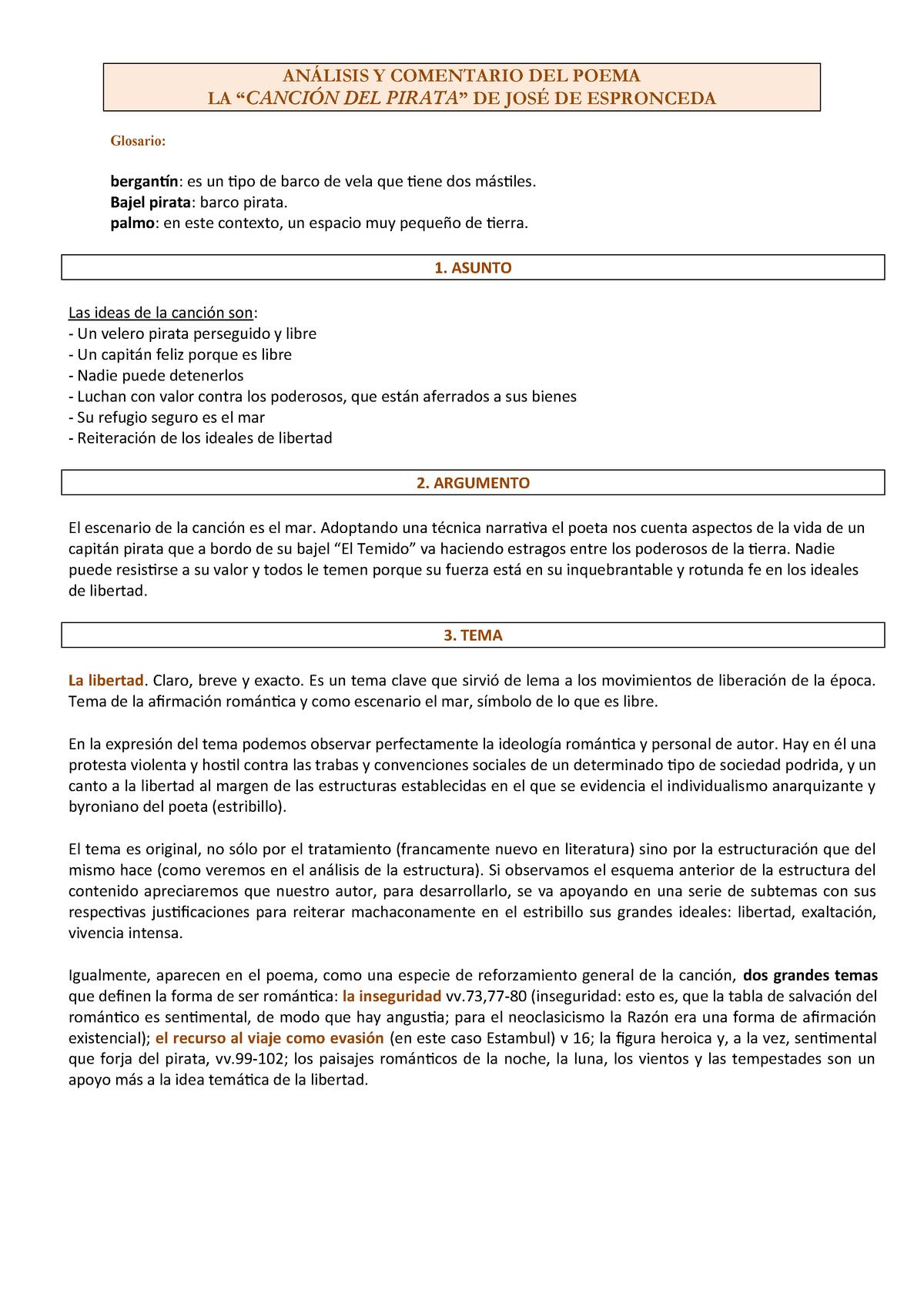 Analyse Gedicht Spanische Literatur Muas Studocu