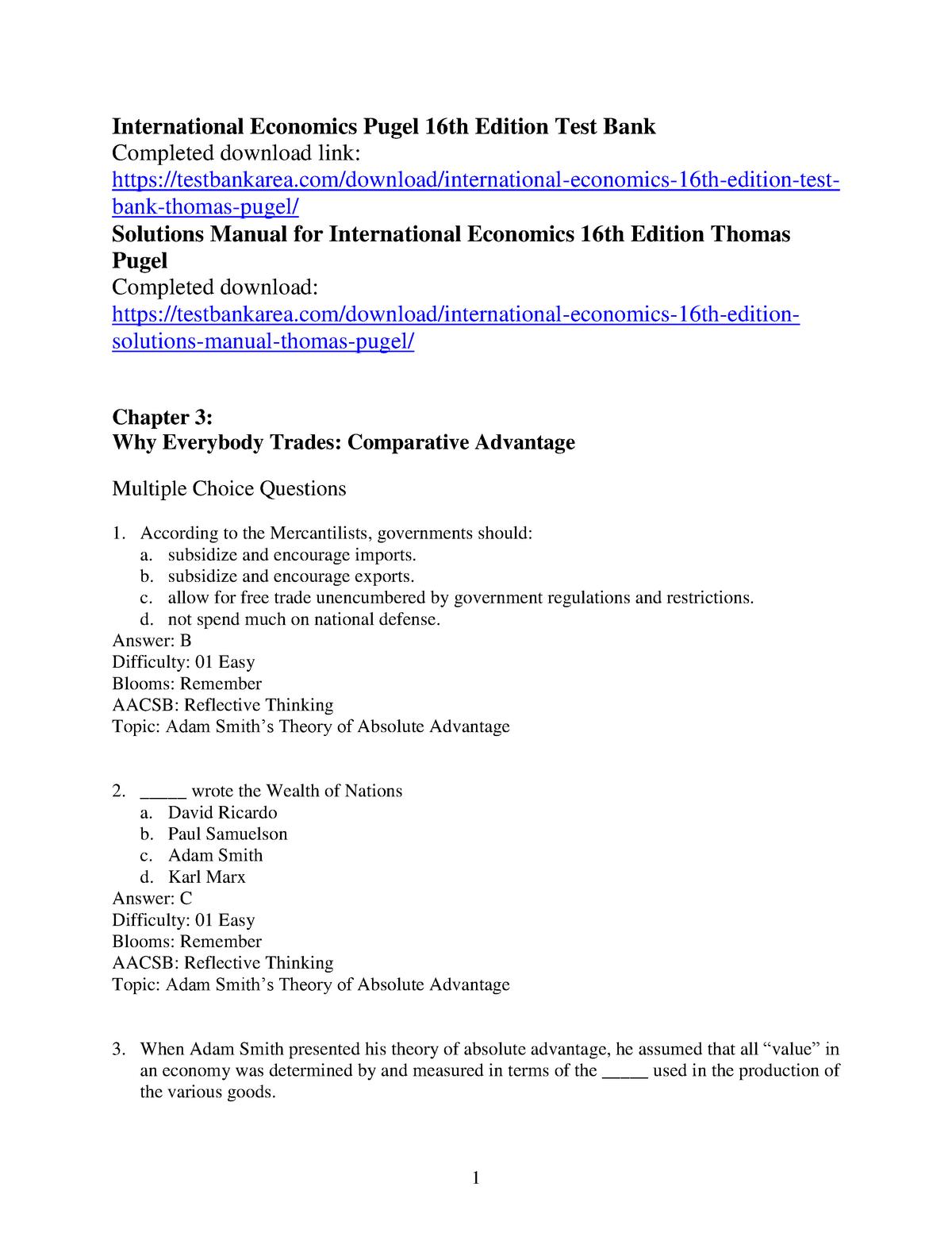 Exam 2017 - EBP031A05: International Business Environment - StuDocu