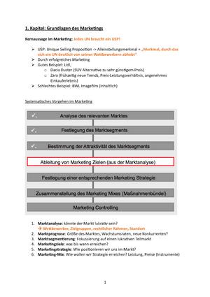 61e8a681808c3e Marketing Zusammenfassung - 44640  Marketing - StuDocu