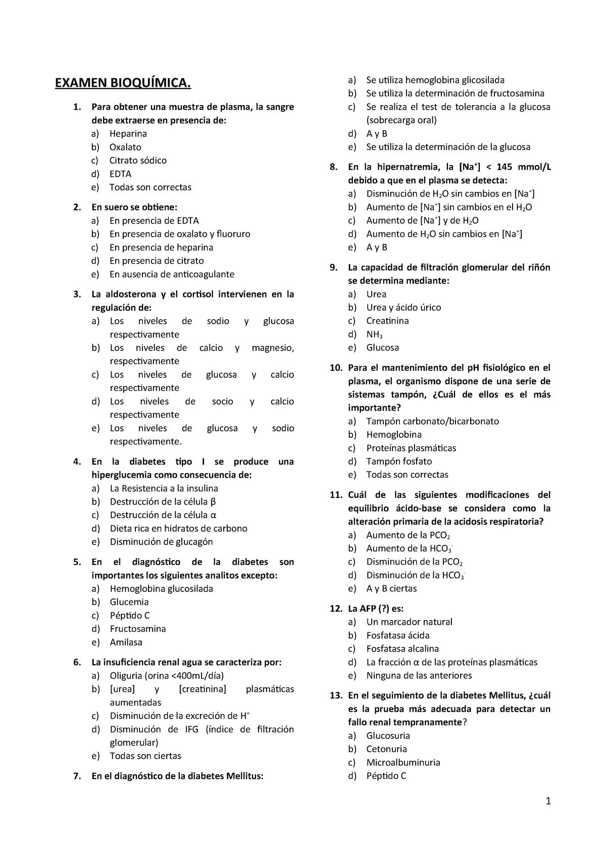 determinación de urea en suero plasma y orina