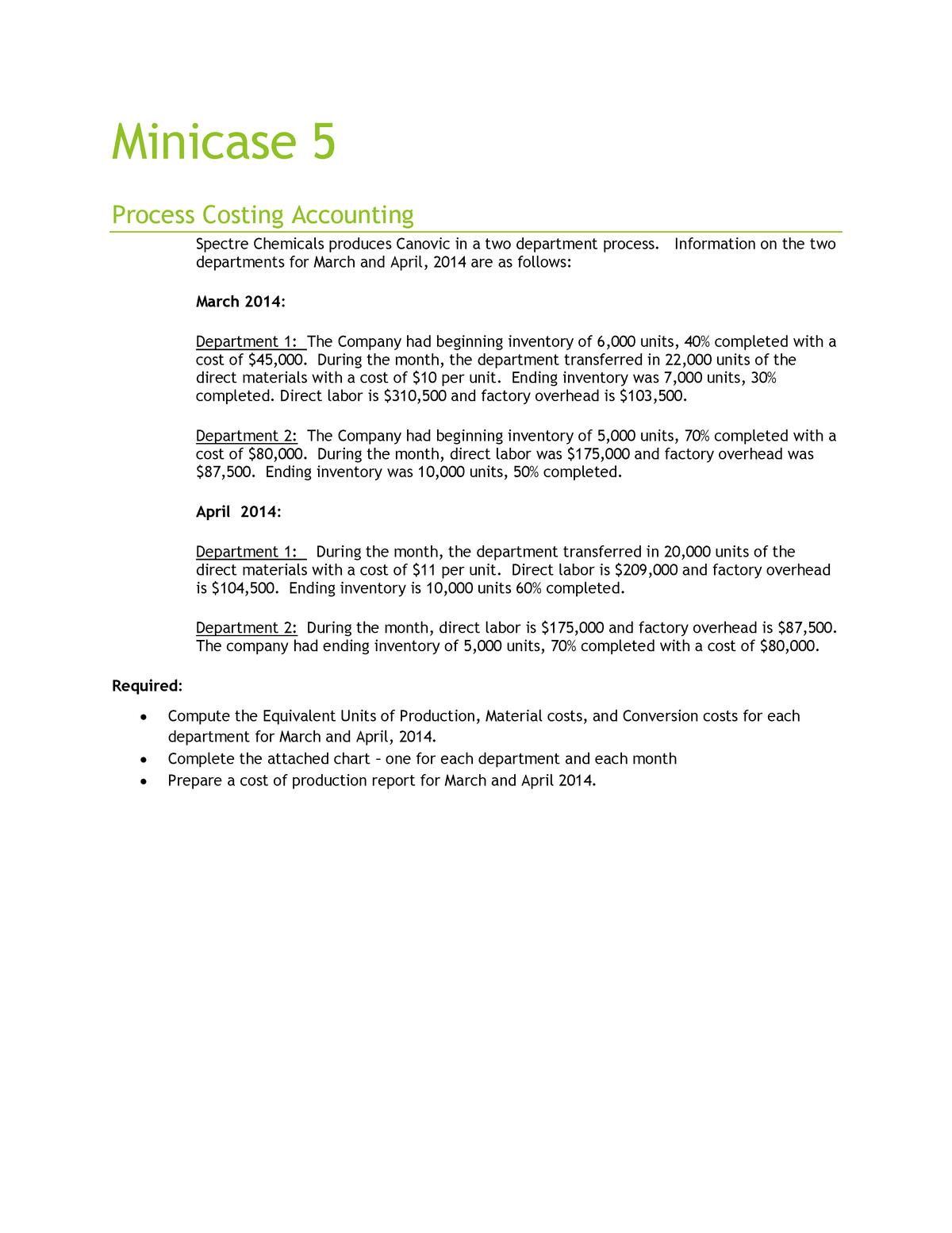 Minicase 7-eup - Case - Finance - StuDocu