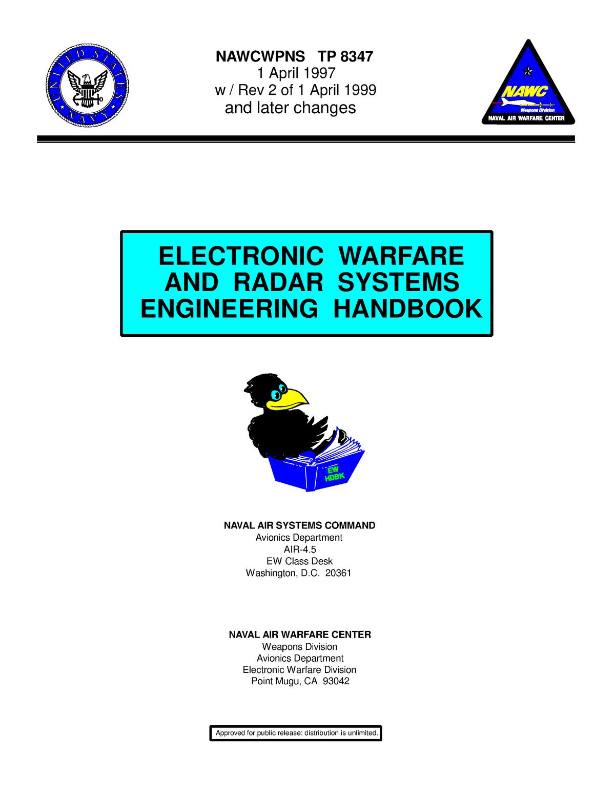Dlfeb com Electronic Warfare Radar Systems - EET 402: High