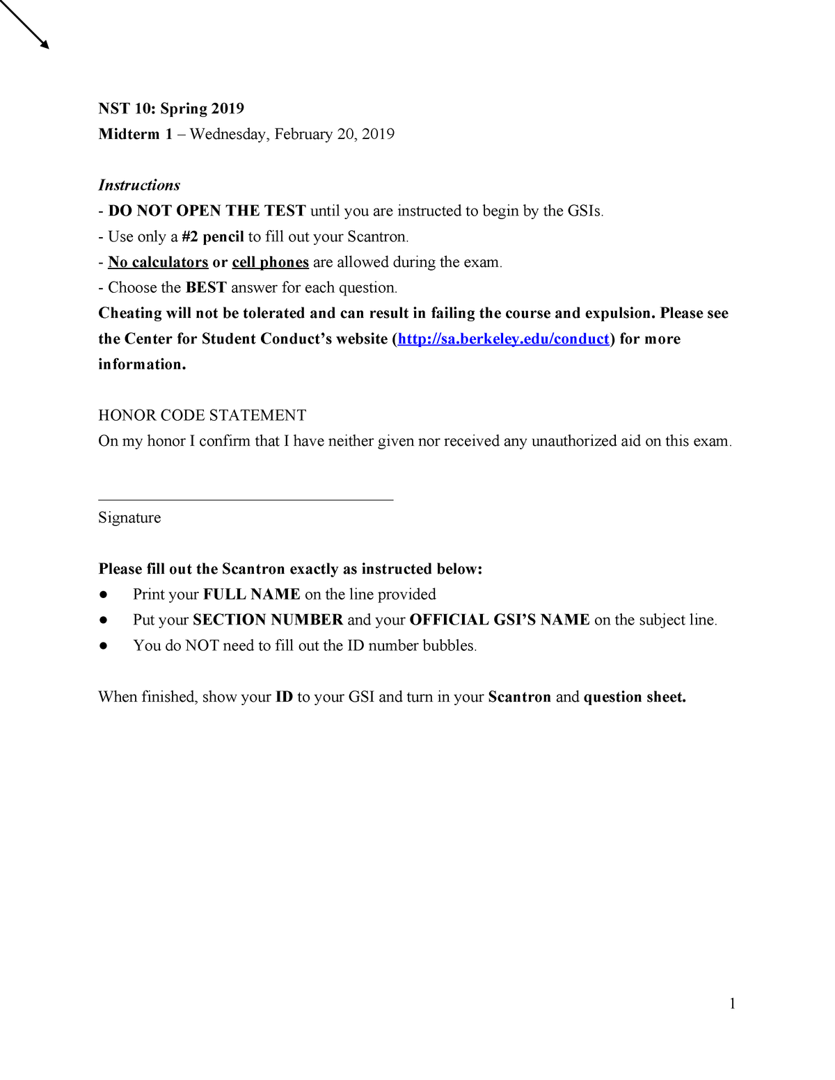 Exam 2019 - NUSCTX 10: Introduction To Human Nutrition - StuDocu