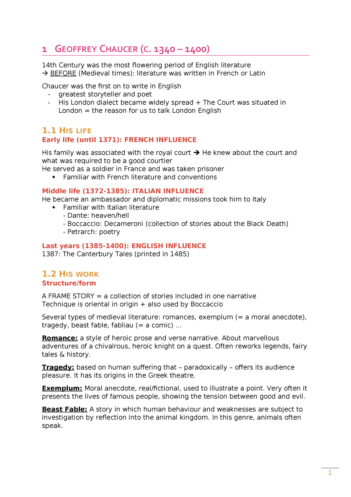 A List Of Fables And Their Morals summary - complete - literature part of english vs 4 - - studocu